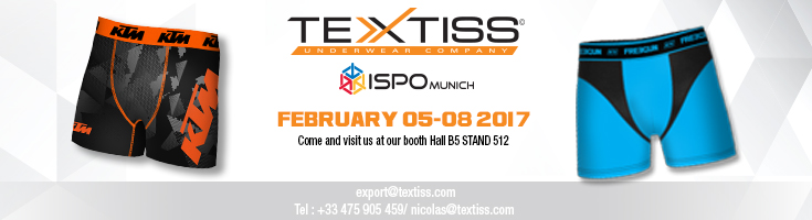Find Textiss at the Ispo exhibition