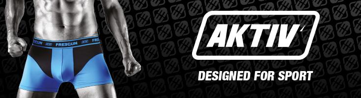 La gamme AKTIV : 100% sport !!!