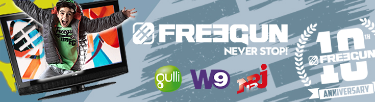 Final stretch for the Freegun television campaign !