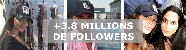 +3.8 millions followers for Goorin Brothers!