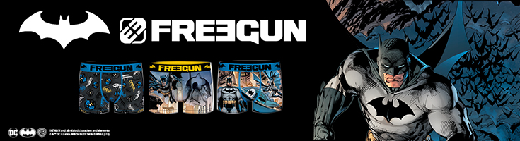 Freegun collection for the Batman's 80 years !