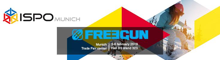 Freegun at Ispo trade fair in Munich !