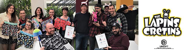 Ubisoft récompense Textiss, comme son meilleur licencié !