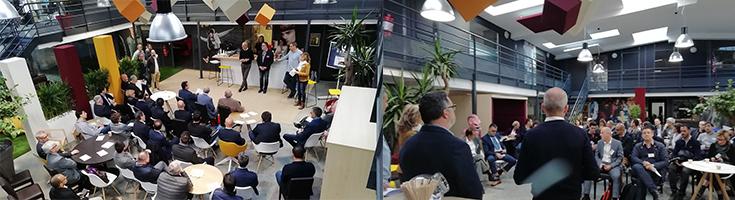 Textiss entertain the Entreprendre network !