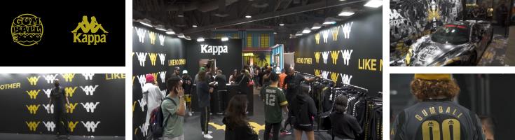 Kappa x Gumball 3000 édition 2019