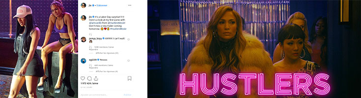 Von dutch à l'affiche du film Hustlers, déjà sortie aux USA !