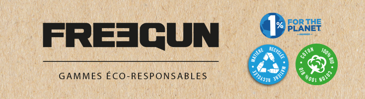Freegun, membre de 1% for the Planet