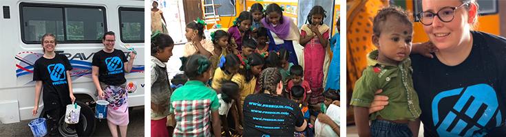 Freegun, partenaire d'un projet étudiant en Inde