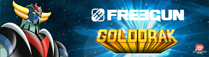 Alerte nouvelle licence : Goldorak chez Freegun !