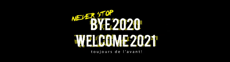 BYEBYE 2020 WELCOME 2021